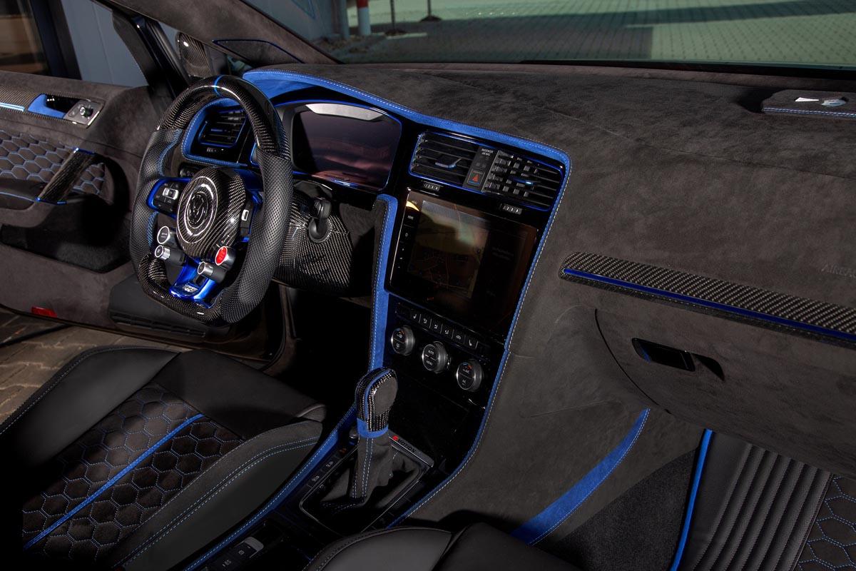 Golf R custom interior