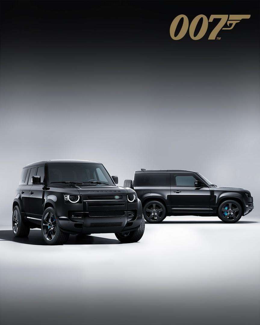 Land Rover Defender V8 Bond Edition wallpaper