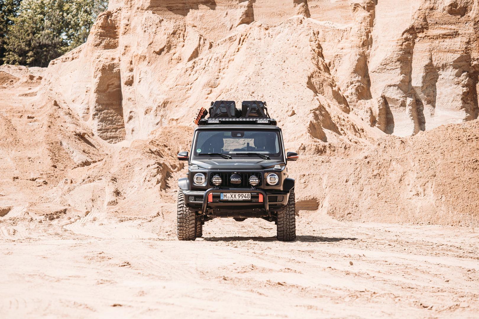 Lifted G Wagon