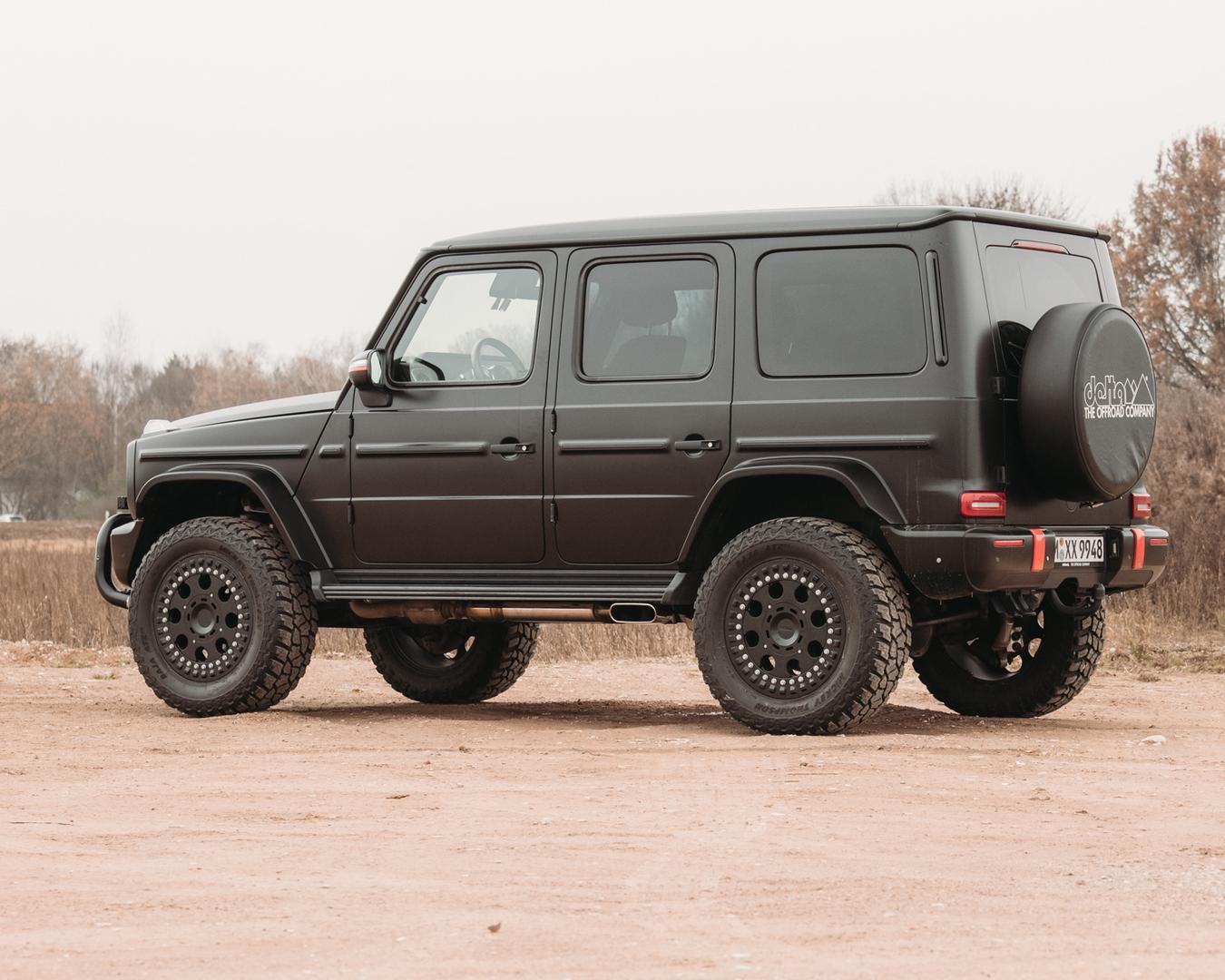 Mercedes G Wagon off road wheels
