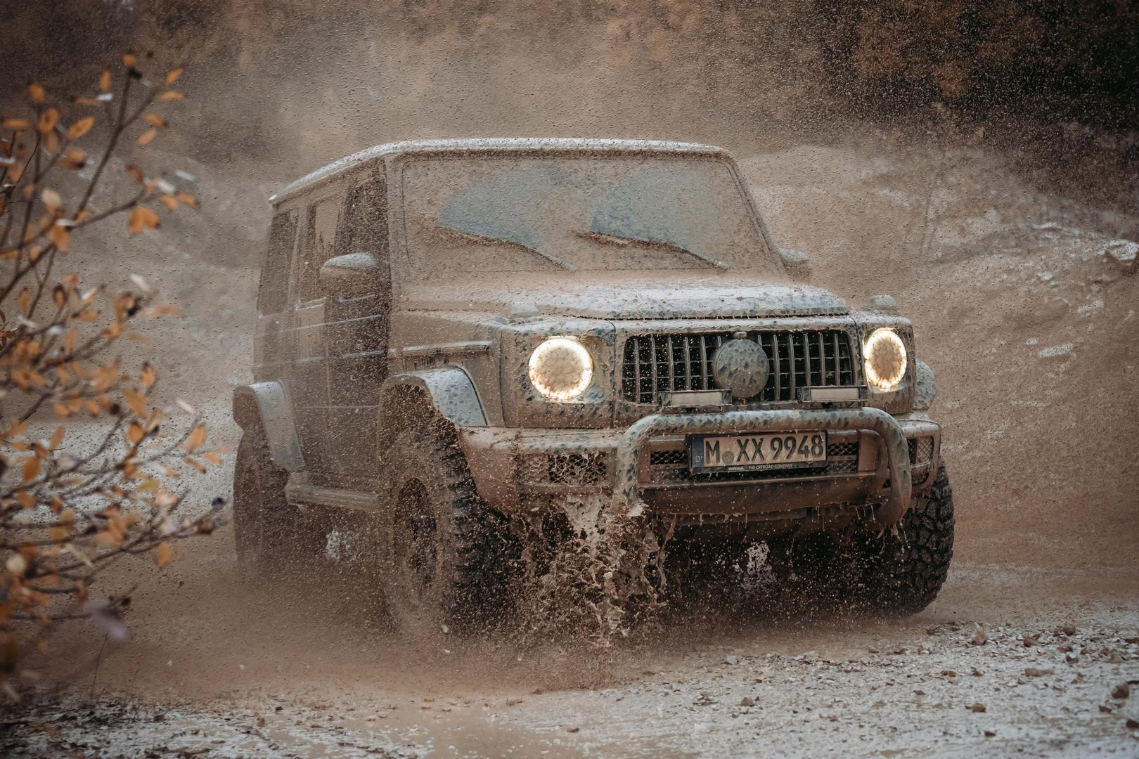 This Package Turns Your G-Wagon into the Off-Road Warrior it was Meant to Be