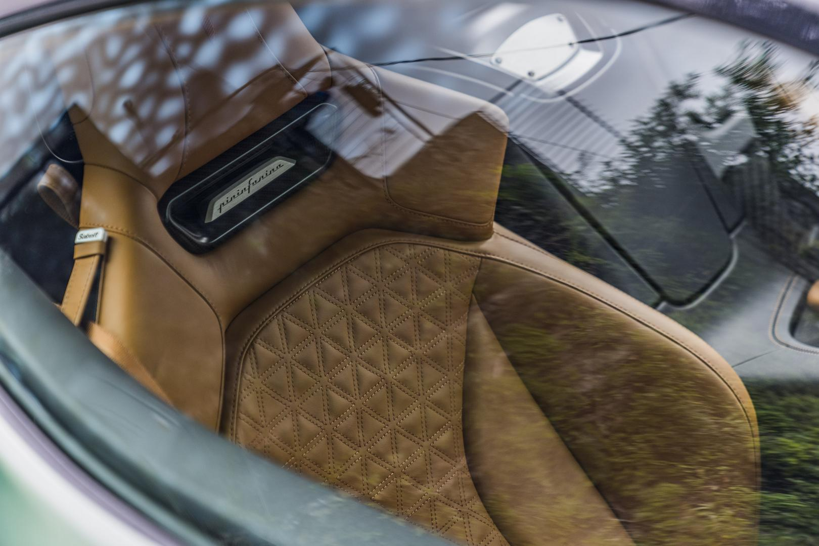 Pininfarina Battista seats