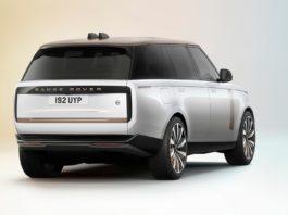2022 Range Rover SV LWB rear