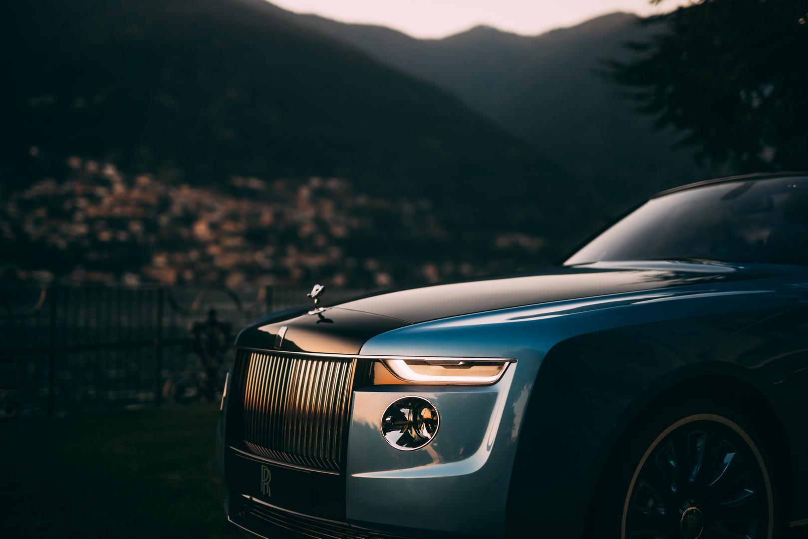 Rolls-Royce Boat Tail headlights