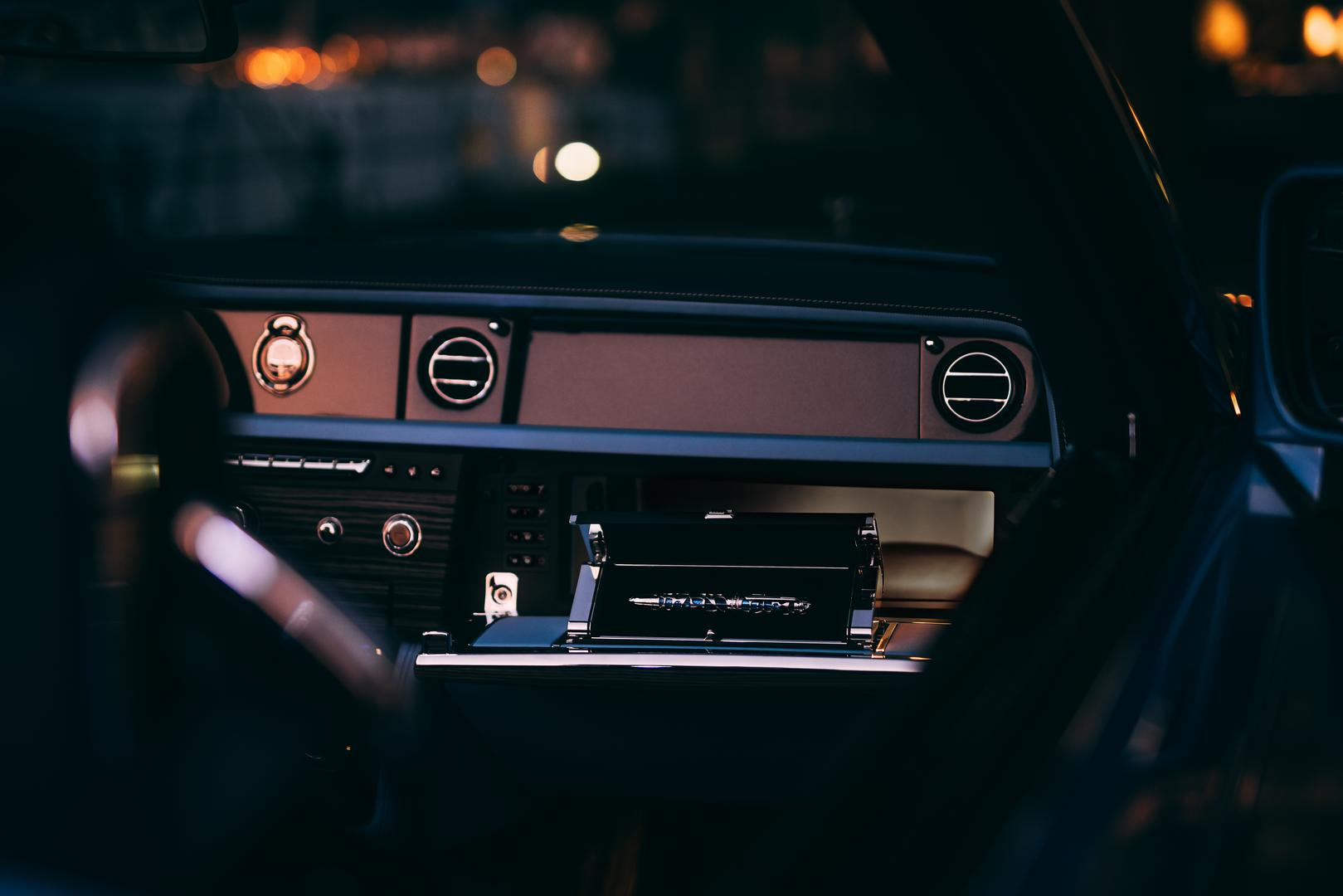 Rolls-Royce Boat Tail interior