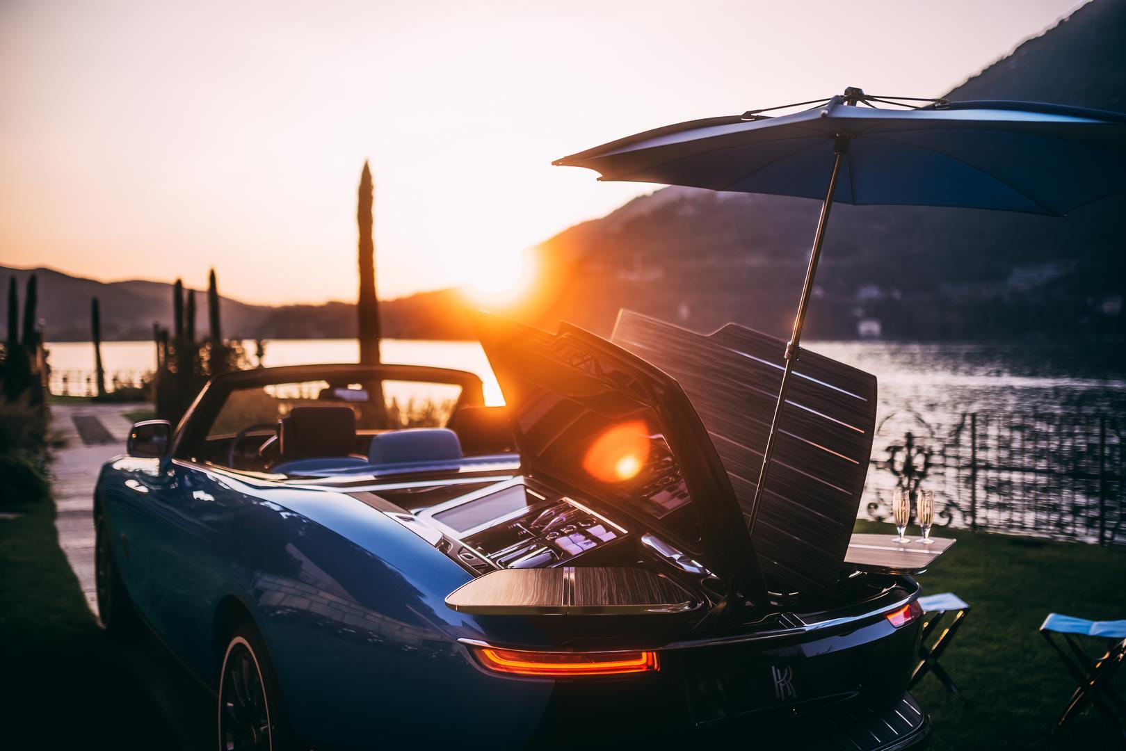 Rolls-Royce Boat Tail rear