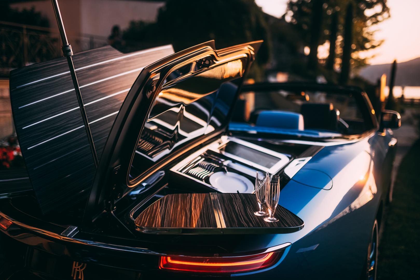 Rolls-Royce Champagne Glass