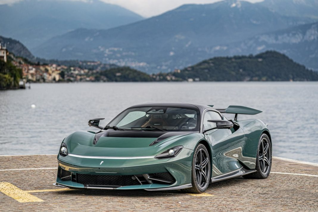 Verde Paradiso Pininfarina Battista